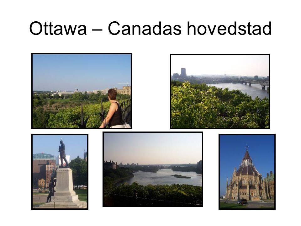 Ottawa – Canadas hovedstad