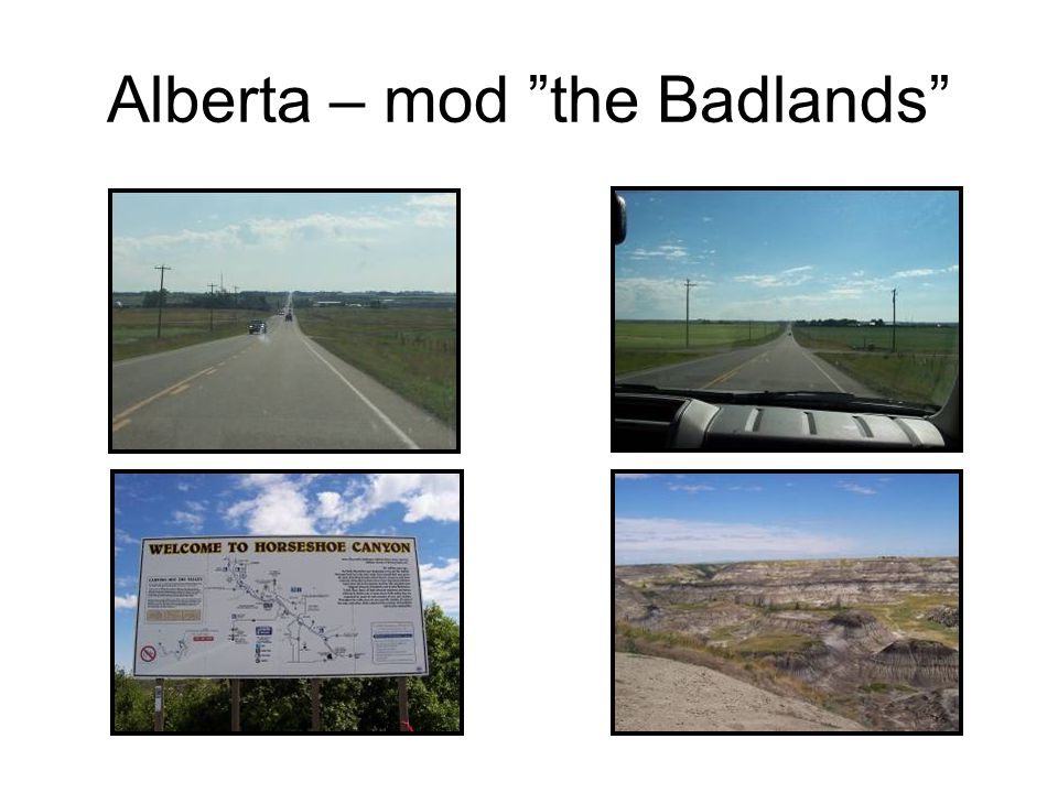 Alberta – mod the Badlands