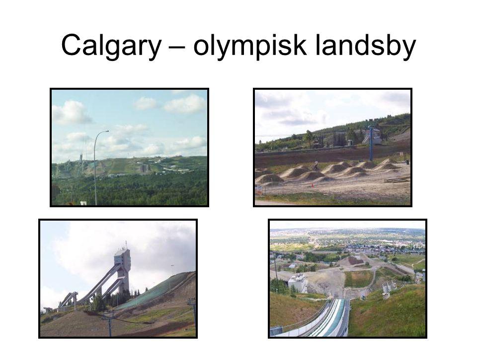 Calgary – olympisk landsby