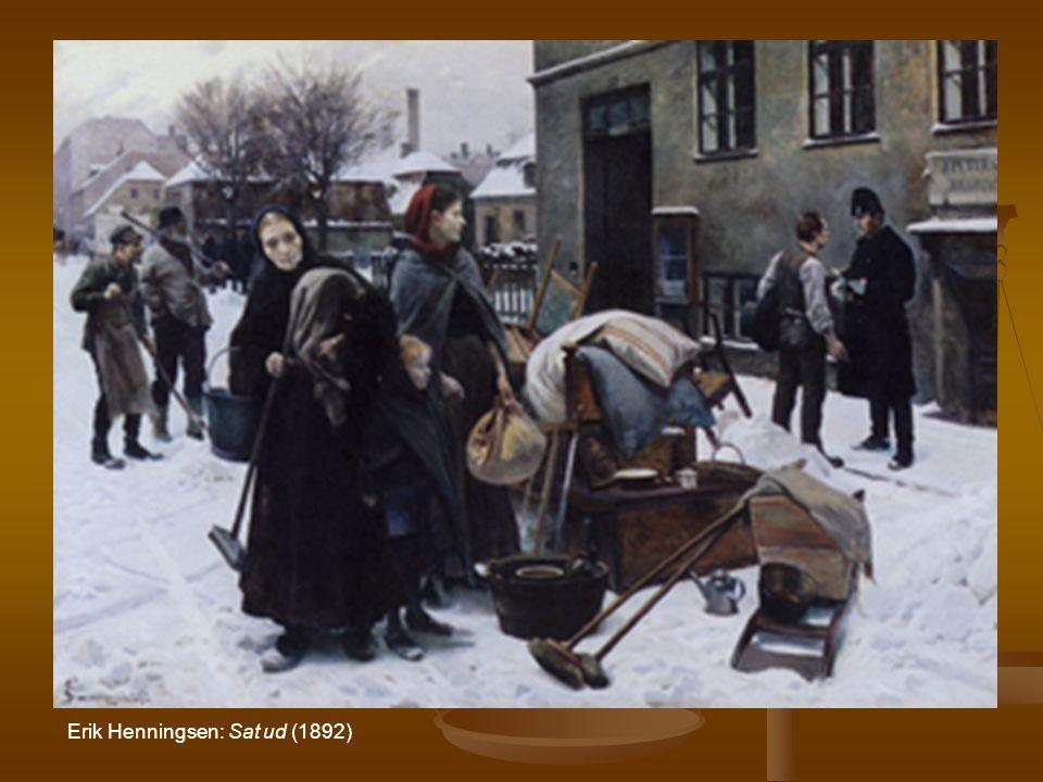 Erik Henningsen: Sat ud (1892)
