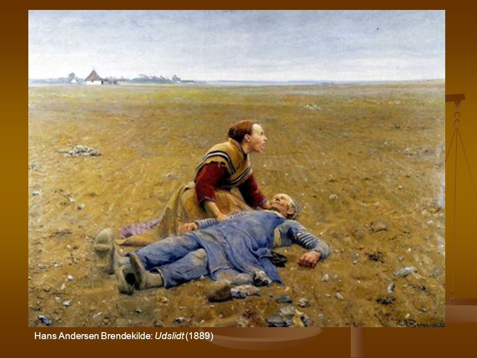 Hans Andersen Brendekilde: Udslidt (1889)