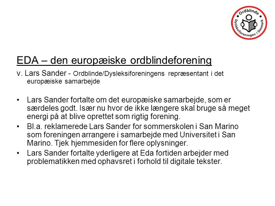 EDA – den europæiske ordblindeforening v.
