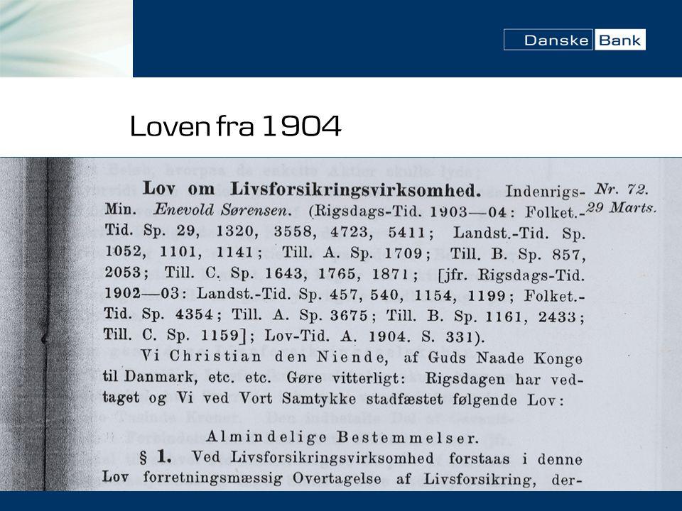 Loven fra 1904