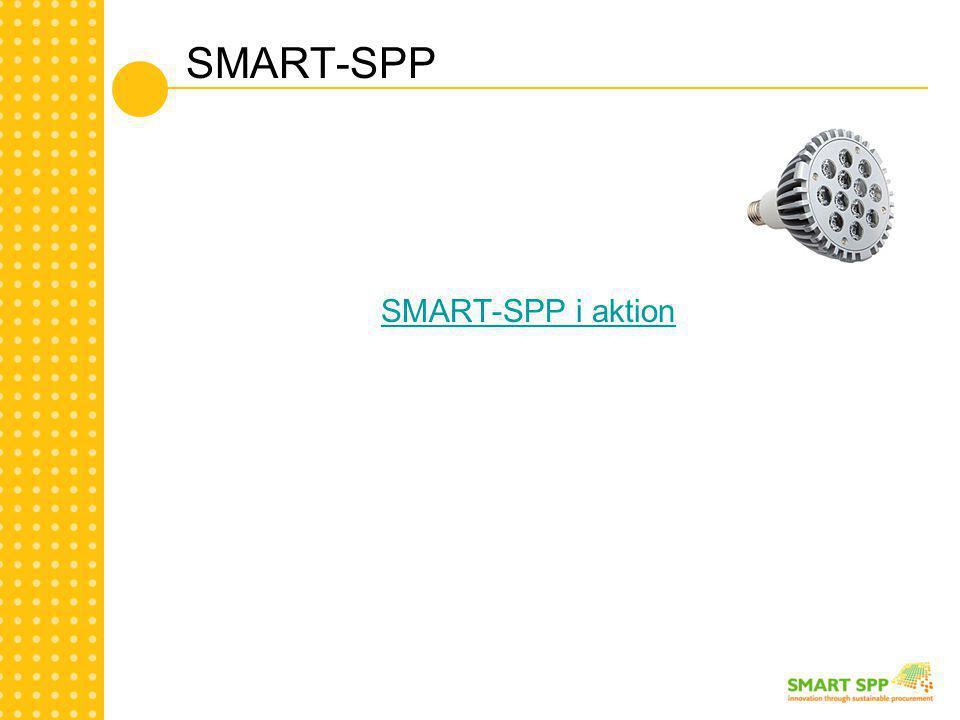 SMART-SPP SMART-SPP i aktion