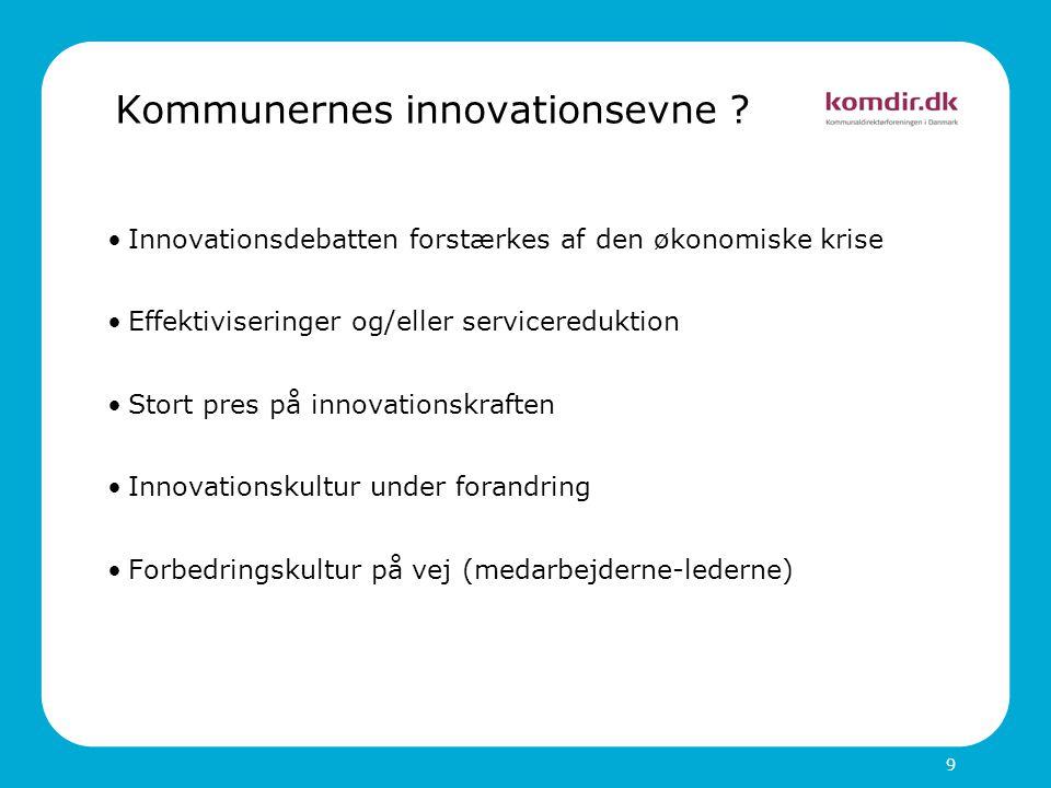 Kommunernes innovationsevne .