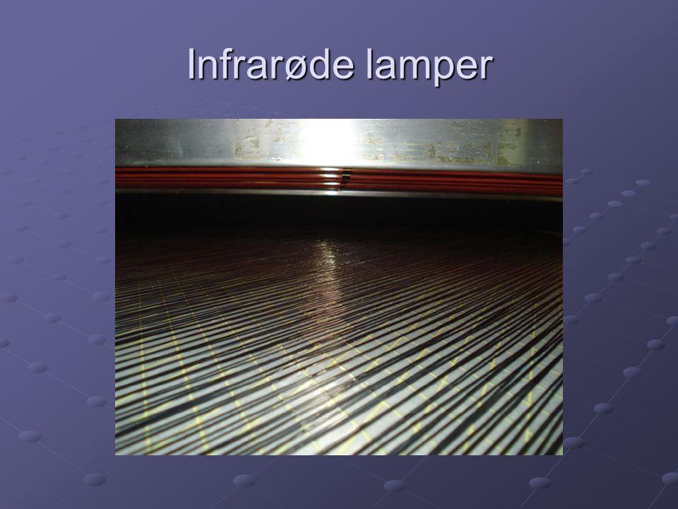 Infrarøde lamper