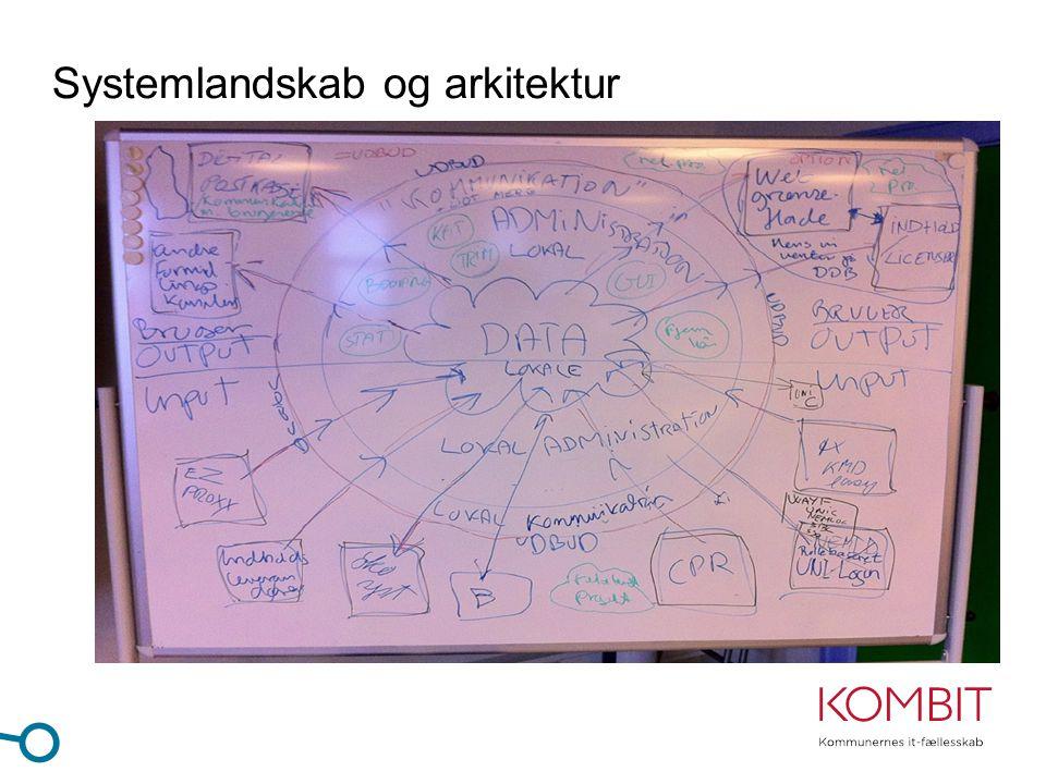 Systemlandskab og arkitektur
