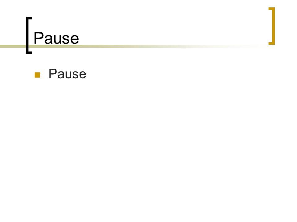 Pause  Pause