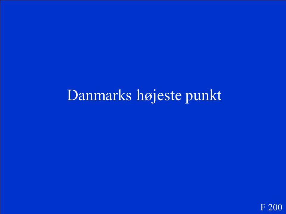 F 100 Hvad er Odense