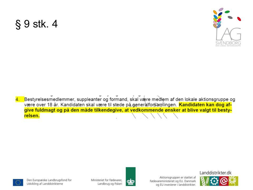 § 9 stk. 4