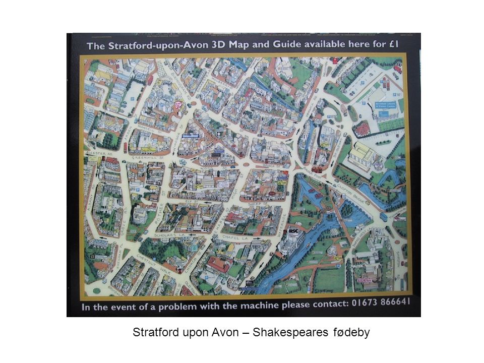 Stratford upon Avon – Shakespeares fødeby