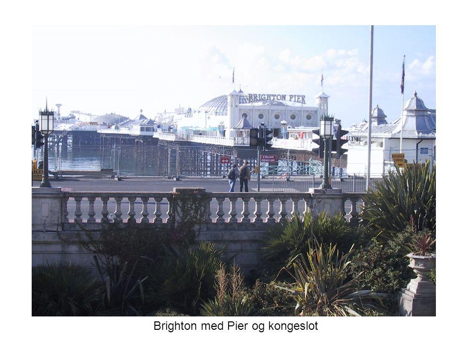 Brighton med Pier og kongeslot