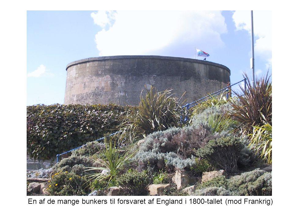 En af de mange bunkers til forsvaret af England i 1800-tallet (mod Frankrig)
