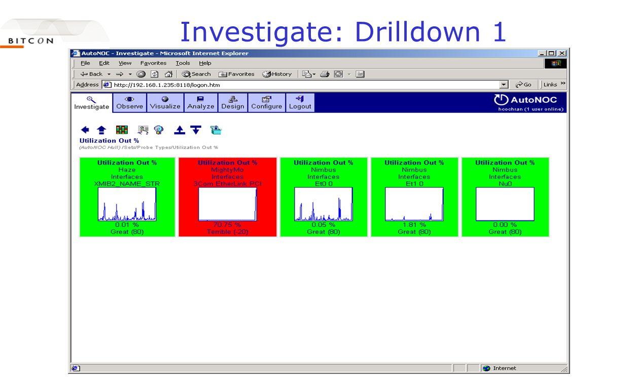 Investigate: Drilldown 1