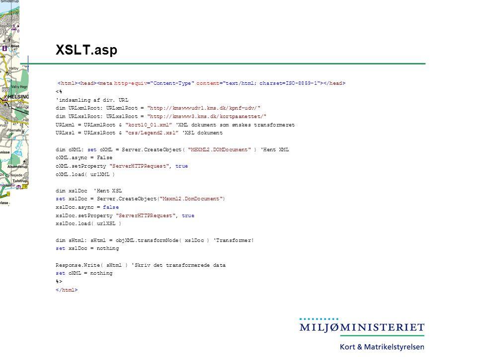 XSLT.asp <% indsamling af div.