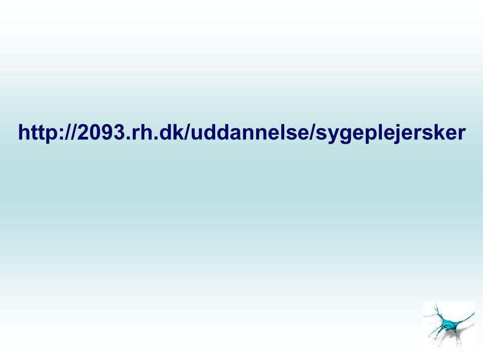 Neuroanatomi og -fysiologi Ulrik Skram Stefan Wikenfalk NIA 2093Rigshospitalet