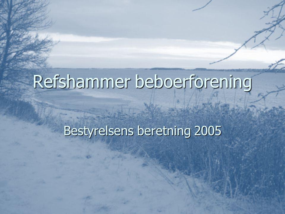 Refshammer beboerforening Bestyrelsens beretning 2005