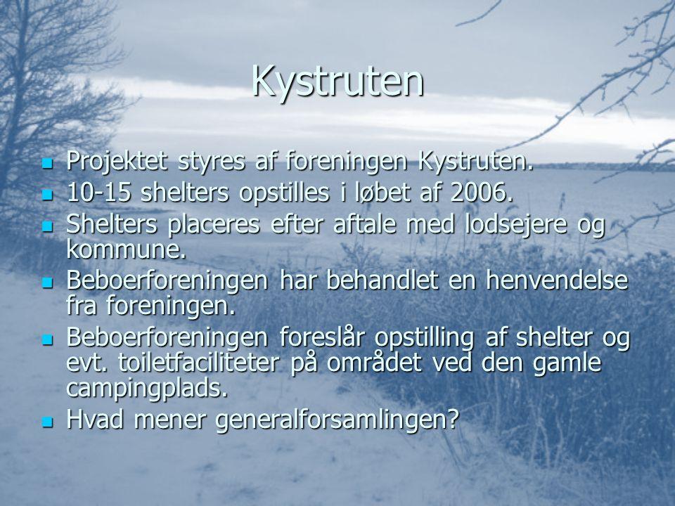 Kystruten PPPProjektet styres af foreningen Kystruten.