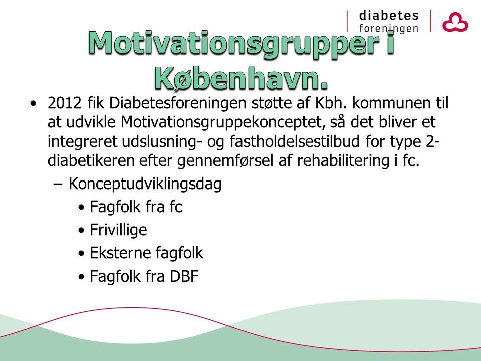 •2012 fik Diabetesforeningen støtte af Kbh.