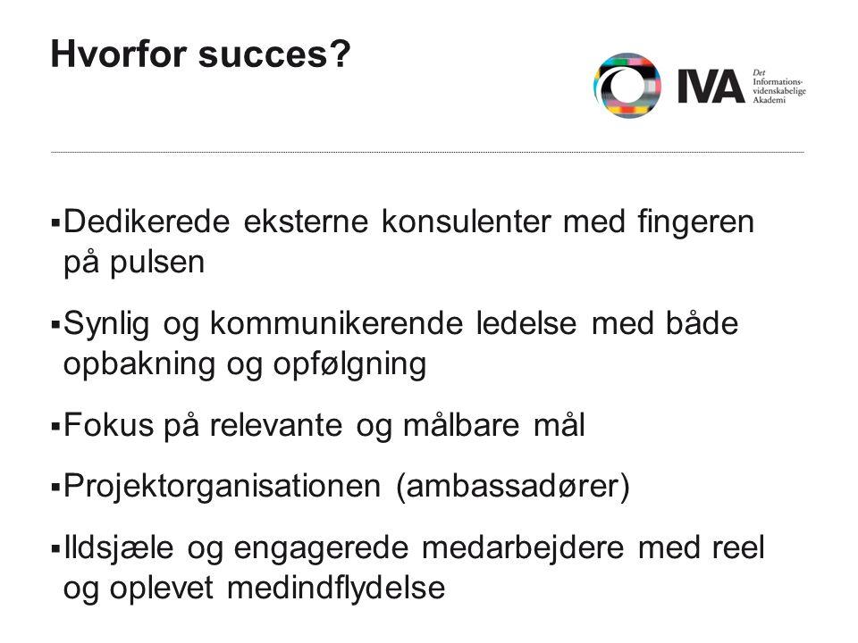 Hvorfor succes.