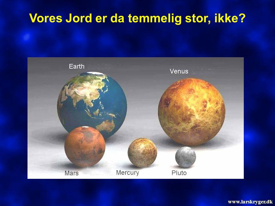 Vores Jord er da temmelig stor, ikke? www.larskryger.dk