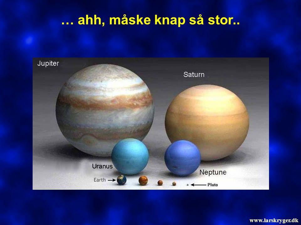 … ahh, måske knap så stor.. www.larskryger.dk