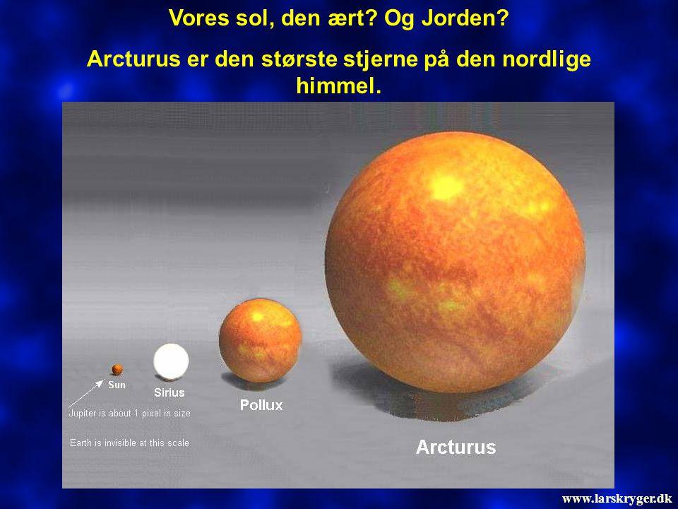 Antares er den 15.mest lysende stjerne på himmelen.