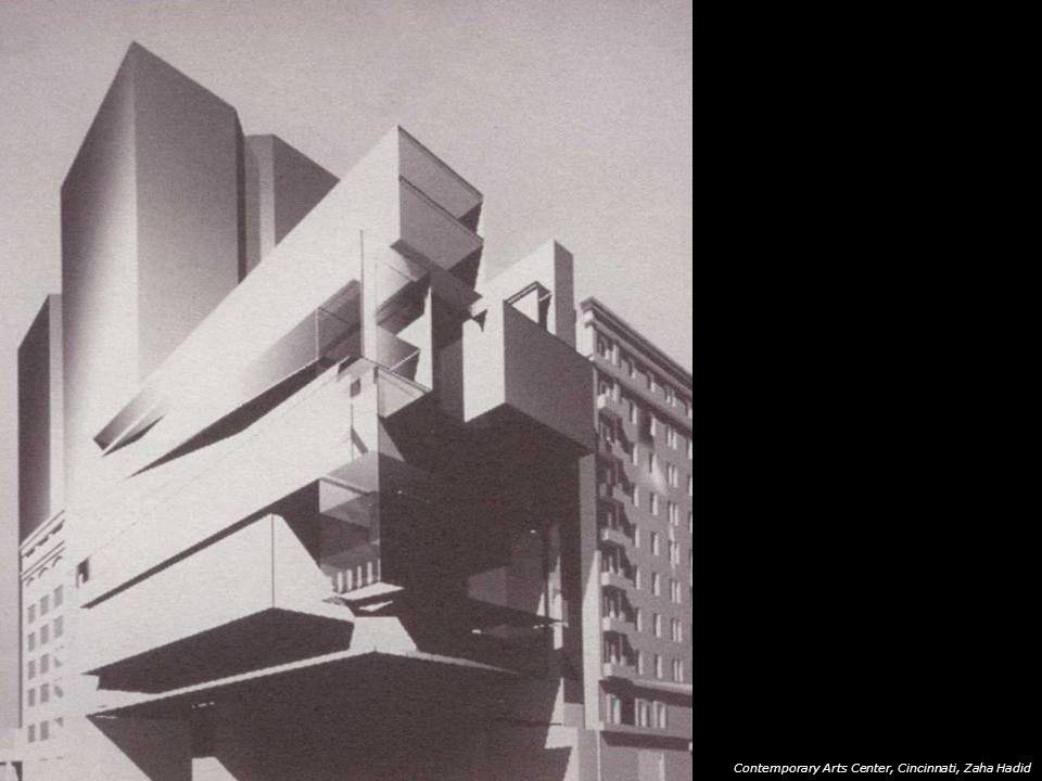 Contemporary Arts Center, Cincinnati, Zaha Hadid