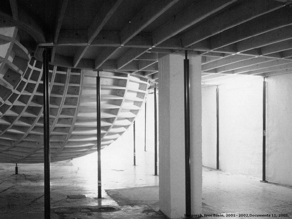 Simparch, Free Basin, 2001 - 2002,Documenta 11, 2003.