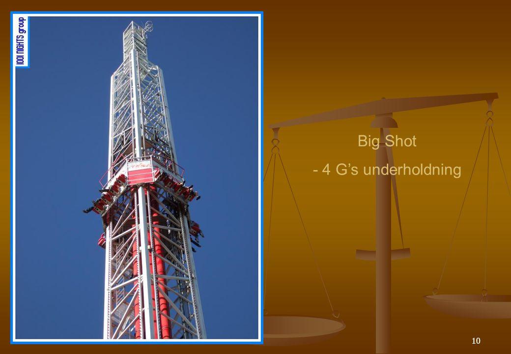 10 Big Shot - 4 G's underholdning