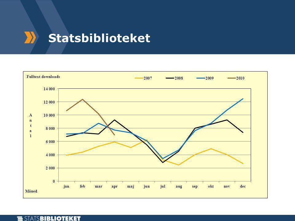 Statsbiblioteket Elektroniske bøger - Downloads