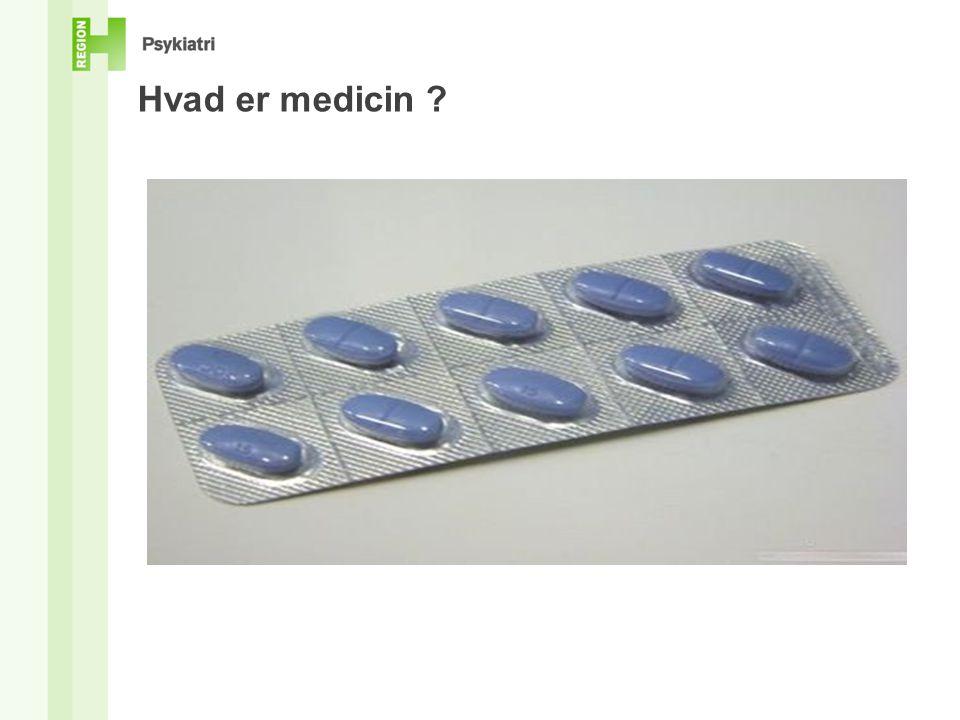 Hvad er medicin