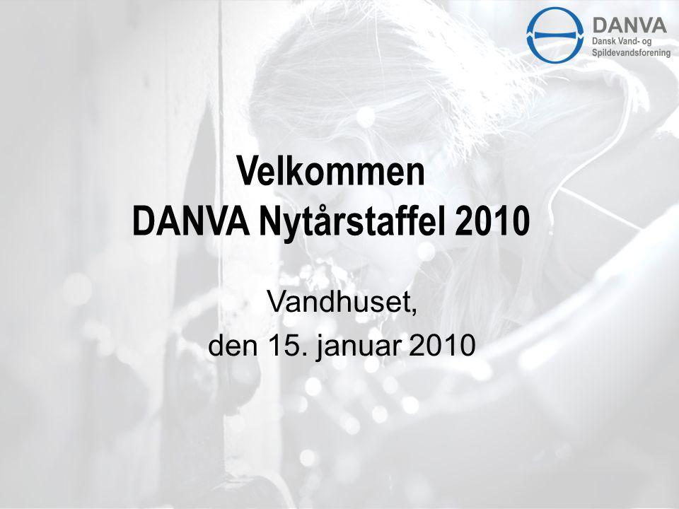 Velkommen DANVA Nytårstaffel 2010 Vandhuset, den 15. januar 2010