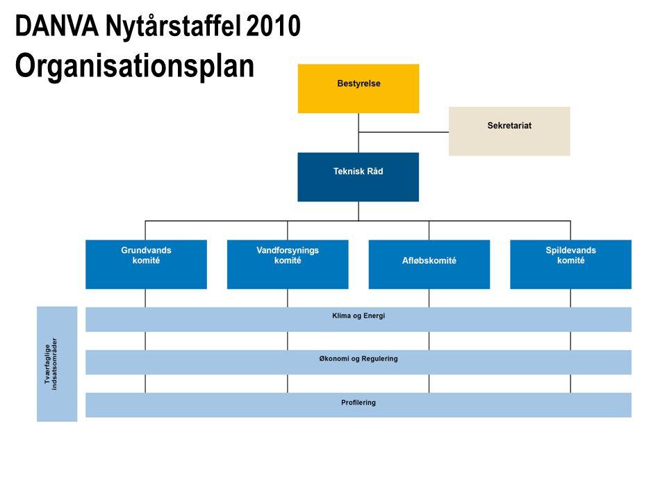 DANVA Nytårstaffel 2010 Organisationsplan