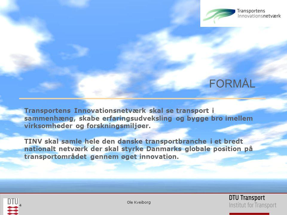 4 Transportens Innovationsnetværk skal se transport i sammenhæng, skabe erfaringsudveksling og bygge bro imellem virksomheder og forskningsmiljøer.