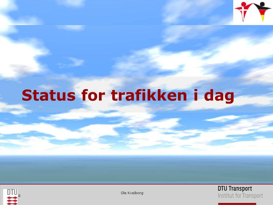 Ole Kveiborg 8 Status for trafikken i dag