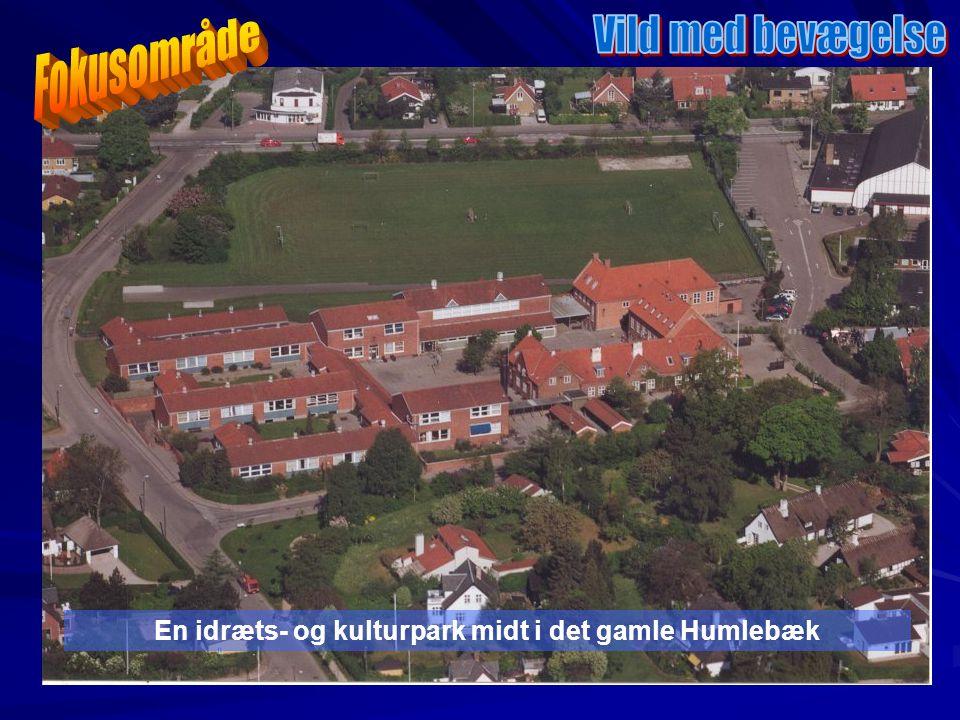En idræts- og kulturpark midt i det gamle Humlebæk