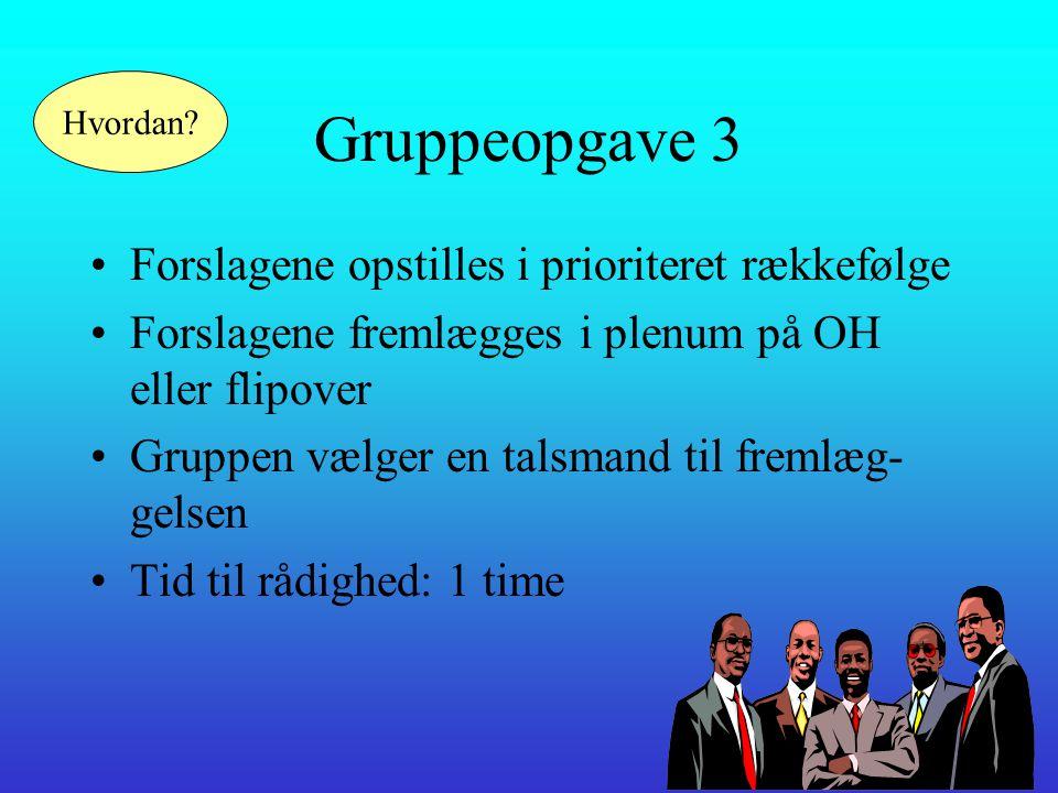 Gruppeopgave 3 •Hvilke emner skal vi som Flysikpiloter beskæftige os med.