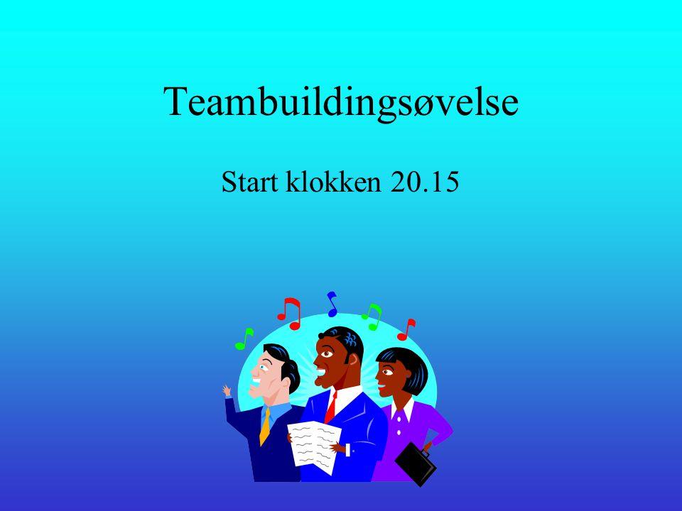 5. del •Teambuilding
