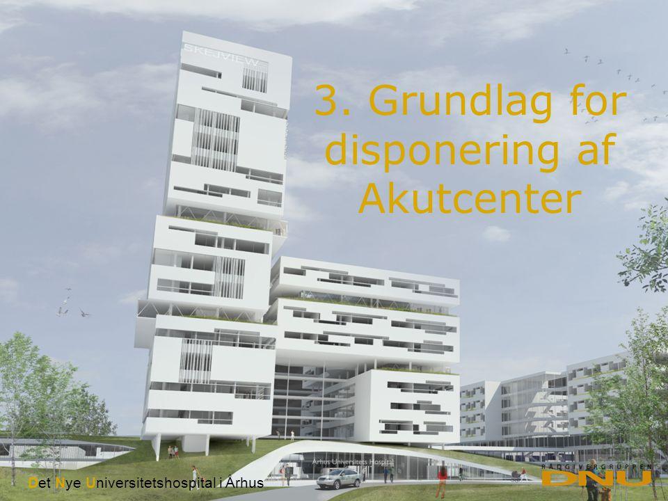 Det Nye Universitetshospital i Århus I Styregruppemøde I d.