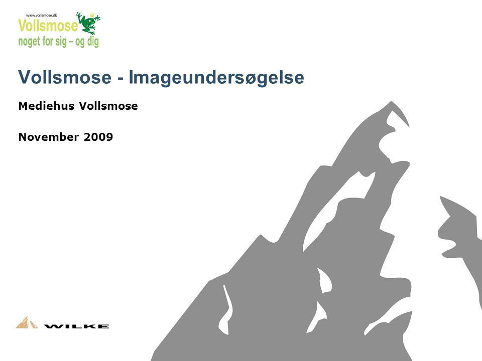 1 Vollsmose - Imageundersøgelse Mediehus Vollsmose November 2009