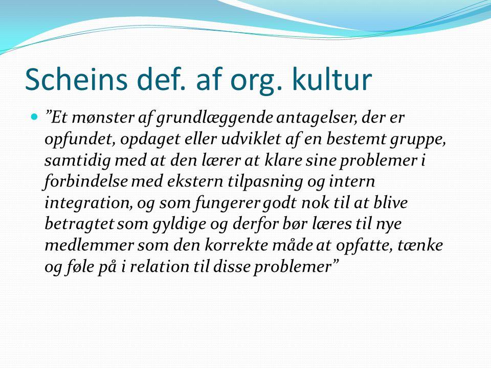 Scheins def. af org.