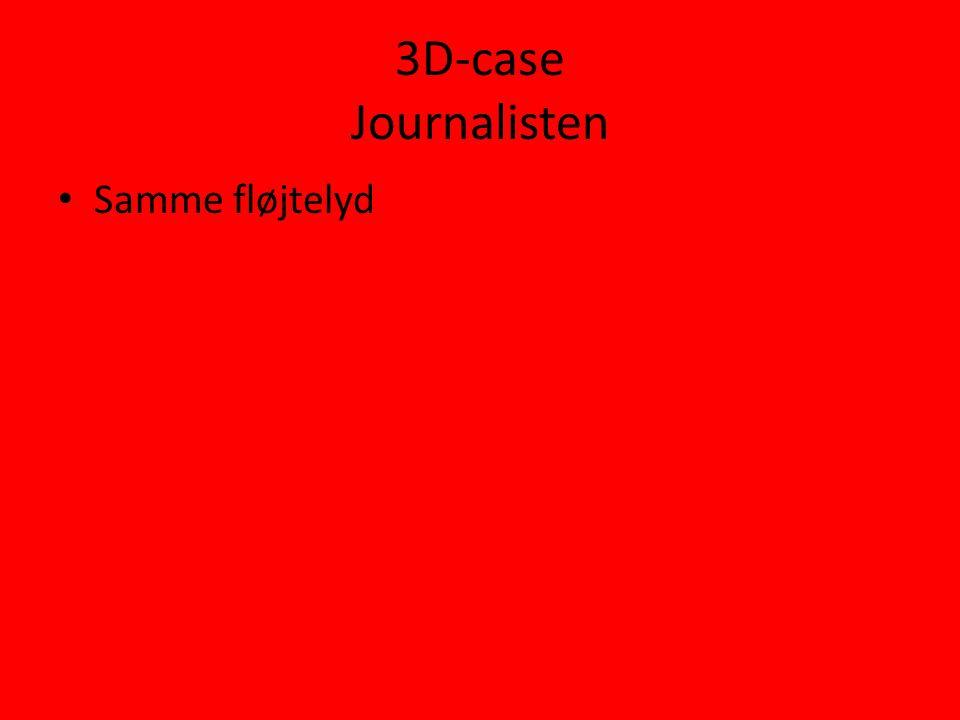 3D-case Journalisten • Samme fløjtelyd