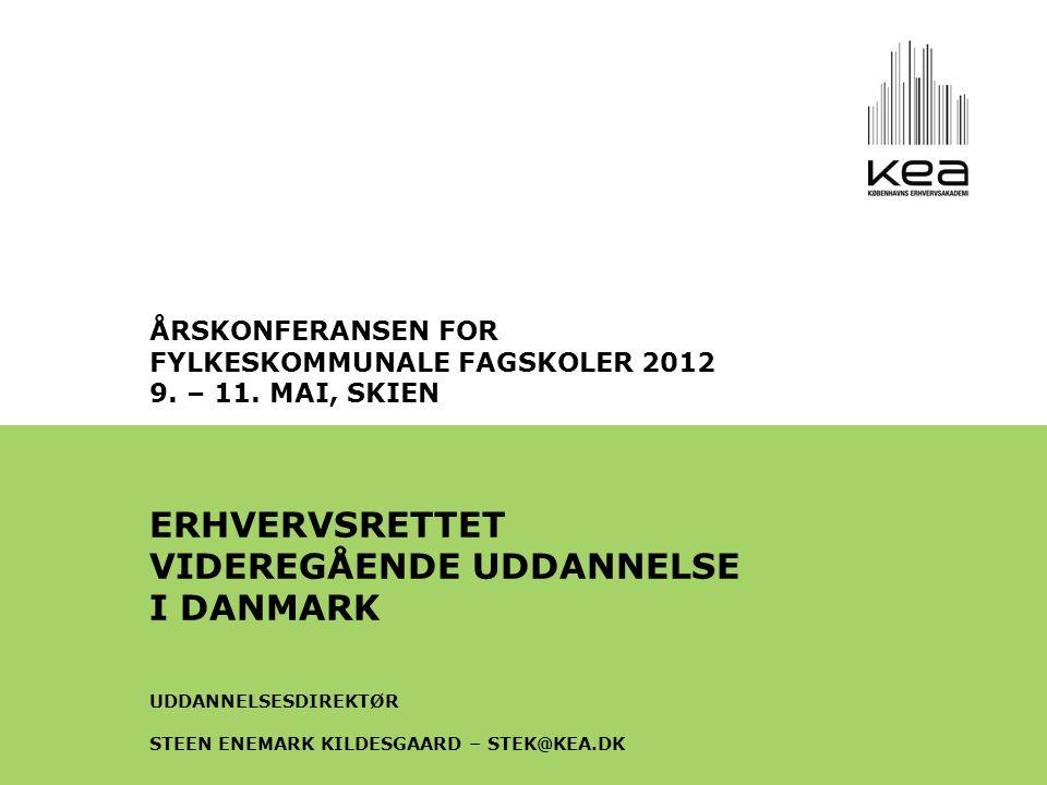 ÅRSKONFERANSEN FOR FYLKESKOMMUNALE FAGSKOLER 2012 9.