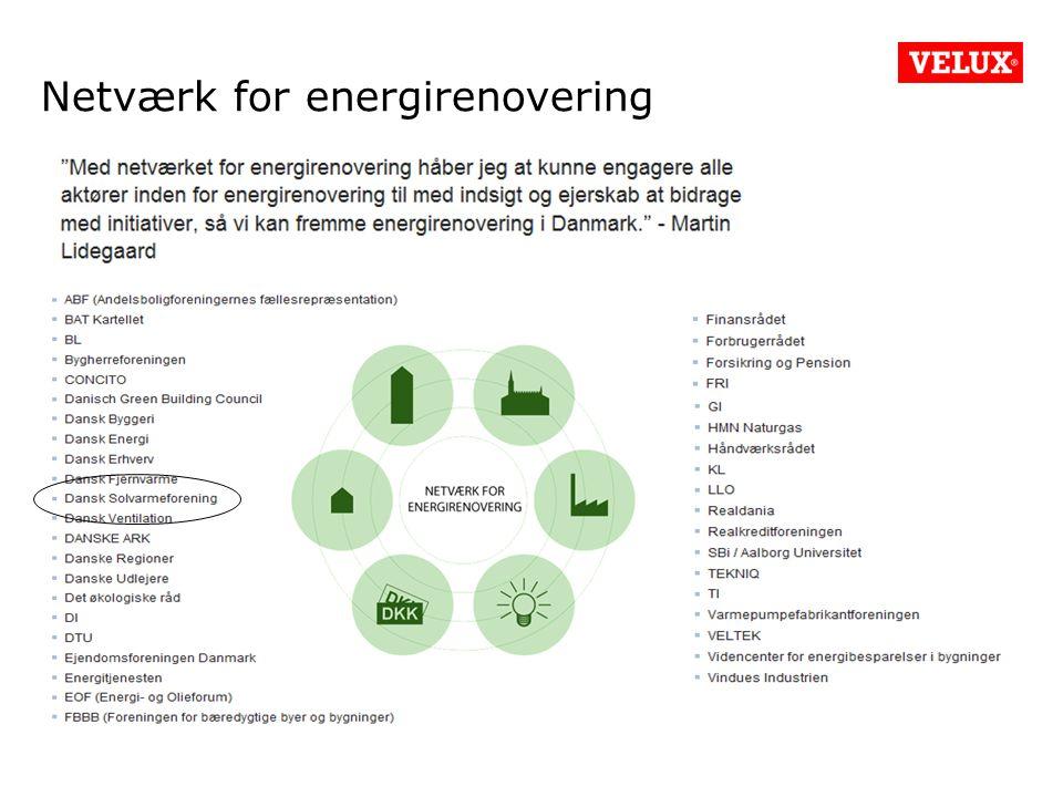 Netværk for energirenovering