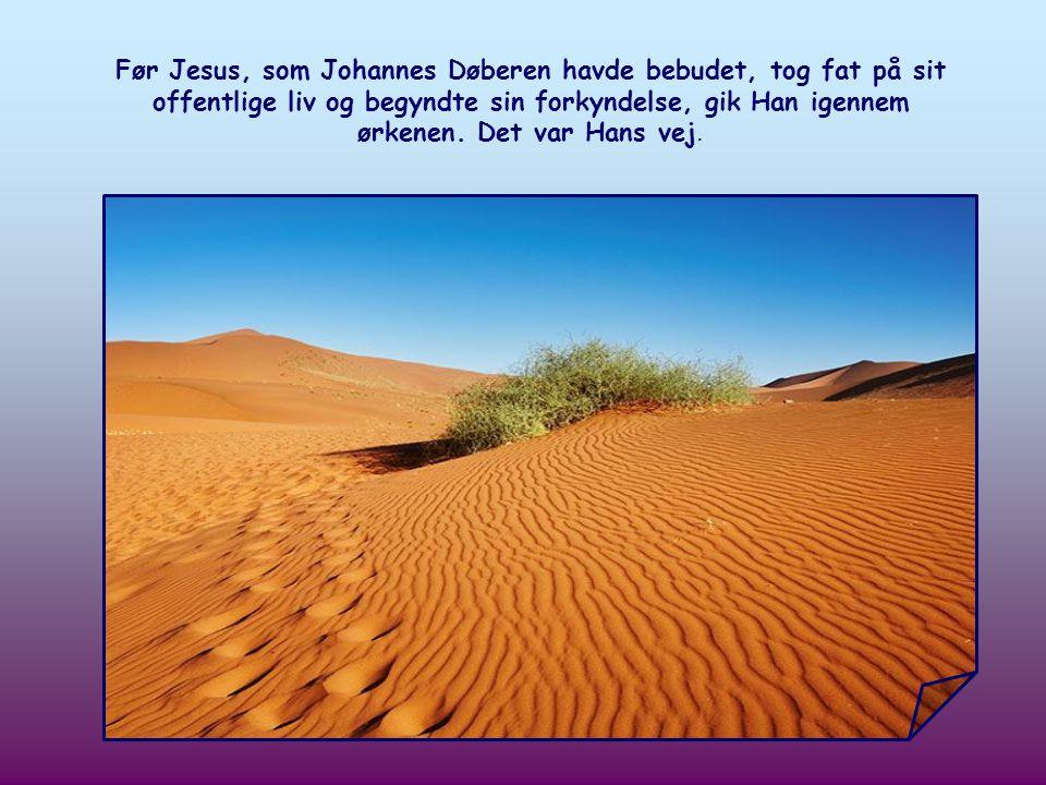 Johannes Døberen opfordrer os til at bane Herrens vej, men hvad er denne vej