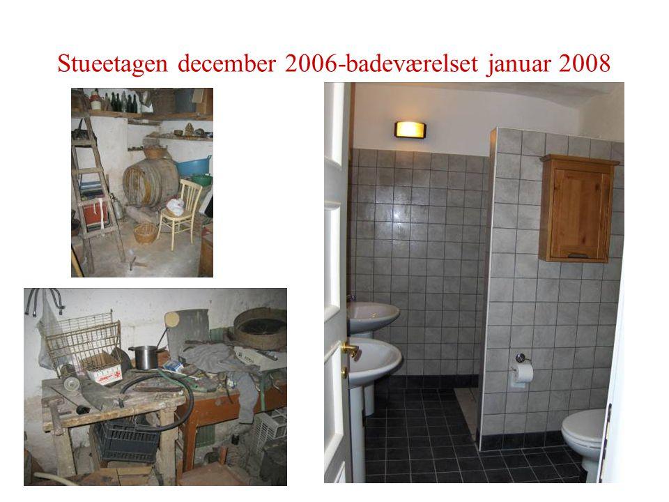 Stueetagen december 2006-badeværelset januar 2008