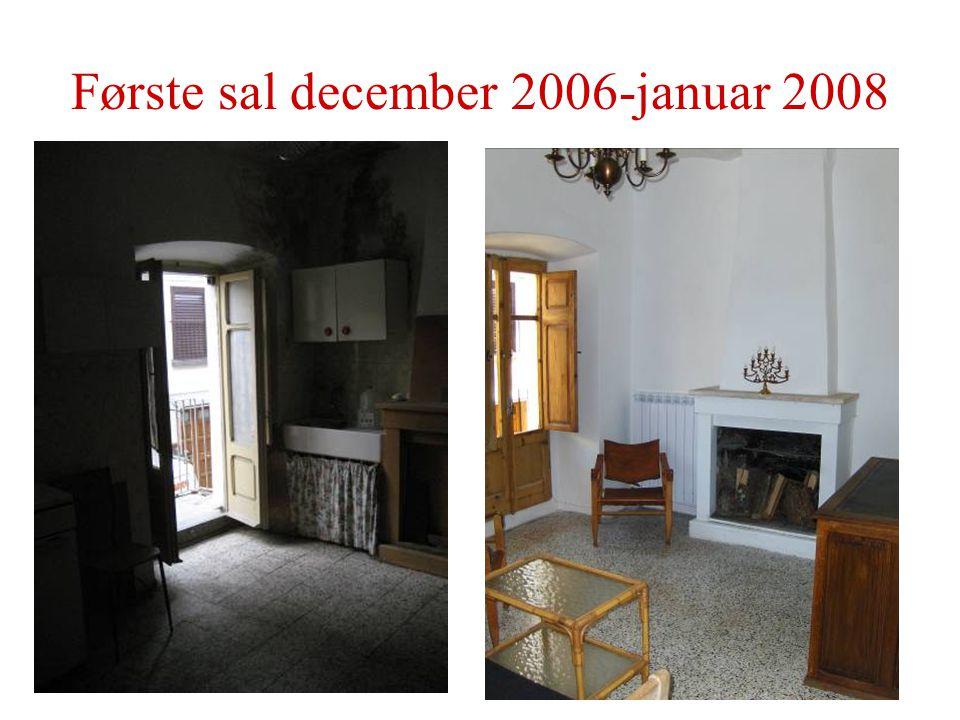 Første sal december 2006-januar 2008