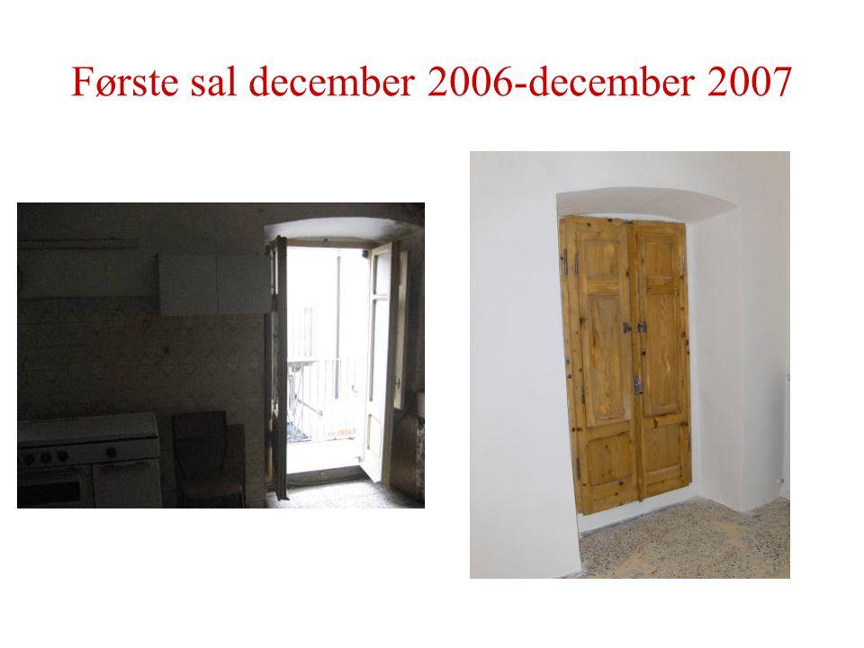 Første sal december 2006-december 2007