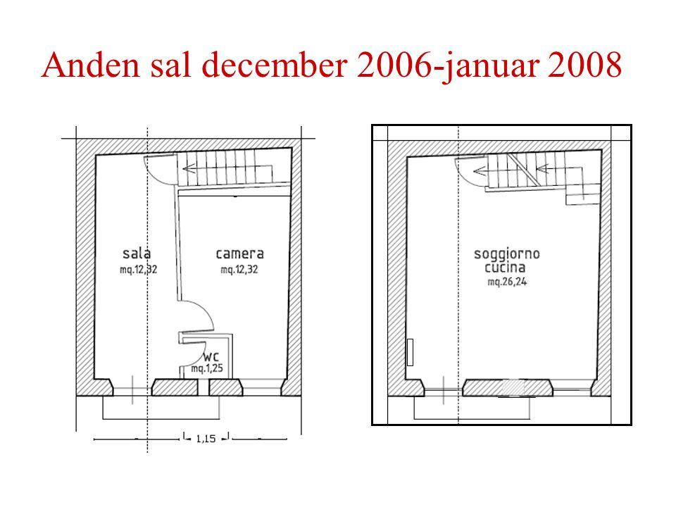 Anden sal december 2006-januar 2008